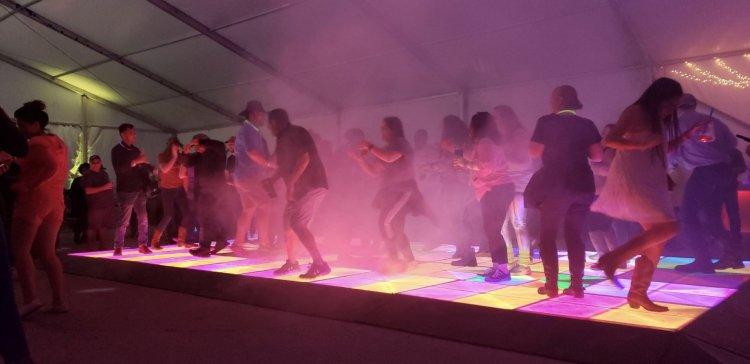 16x16 LED Dance Floor