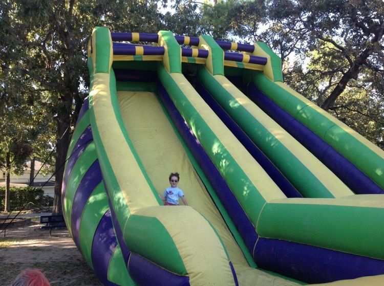 Dual-Lane Super Slide