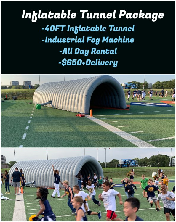 Inflatable Tunnel Package