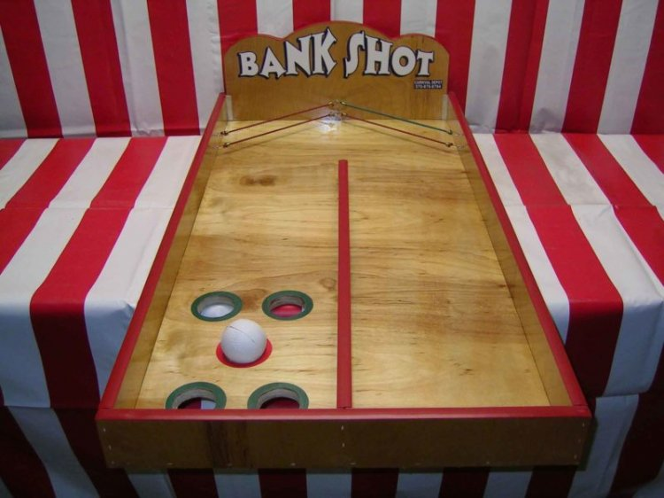 Bank Shot Carnival Game